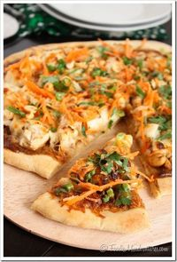 Thai Chicken Pizza   The Marvelous Misadventures of a Foodie