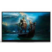 Sculptor MF161LB 16.1 Inch FHD 1080P 144HZ Touchable Auto-Rotate Type C Portable Computer Monitor Gaming Display Screen for Smartphone Tablet Laptop Game Consoles