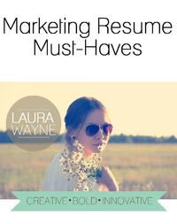 Hiring managers reveal what they look for in a marketing resume.