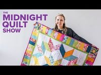 Quilting Is My Therapy Carpenter's Star Free Quilt Pattern - Midnight Quilt Show - Quilting Is My Therapy