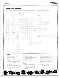 Our thanksgiving games for kids are guaranteed to keep the whole family entertained this holiday season. With our free Thanksgiving word search, crossword, and