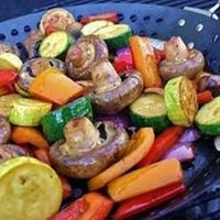 "Marinated Veggies | ""A healthy way to grill veggies! Makes a great sandwich too!"""