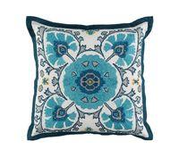 William Yeoward Alexi Peacock Decorative Pillow $200.00