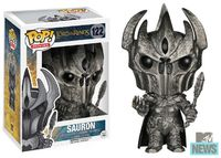 """Check out your exclusive first look at Funko's Pop! Vinyl figures for """"The Hobbit: The Battle Of Five Armies,"""" including Tauriel, Sauron and two Smaugs."""