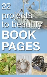 22 projects to beautify book pages