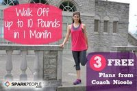 Coach Nicole designed this four-week fitness plan to help you try to shed up to 10 pounds in one month--just by walking.