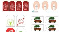 Free Holiday Gift Tags | Free Printable holiday tags for easier gift wrapping. Choose from the many varieties of free printable holiday tags.
