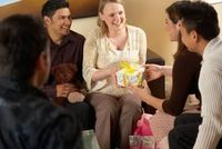The Best Co-Ed Baby Shower Games. A baby shower is held in honor of expecting parents in order to shower them with gifts. Traditionally, they have been female-o