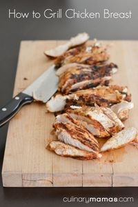 Tips & Tricks: How to Grill Chicken Breast, instructions how to grill tender, juicy chicken every time.