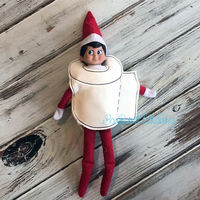 Toilet Paper Elf Outfit
