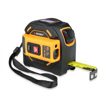 SNDWAY 40M 60M Laser Distance Meter Range Finder Laser Tape Measure Digital Retractable 5M Laser Rangefinder Ruler Survey Tool