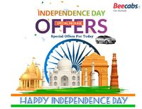 Get exciting Discounts & offers on #Beecabs Car Rental. We offer to celebrate India's Independence Day deals to enjoy special packages for all category of cabs. hire services in every major city like #Chennai, #Bangalore, #Delhi, #Pune, #Hyderab...