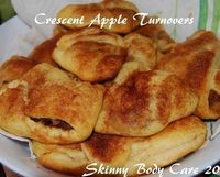 Crescent Apple Turnovers