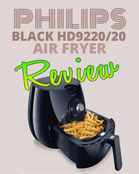 Welcome to my Philips Black HD9220/20 Air Fryer Review. Expect to be wowed with what can be achieved via an Air Fryer and why they should be the main kitchen gadget in your home.