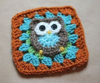"Guest Post: Repeat Crafter Me �€"" Owl Granny Square Pattern 