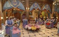 Bibbidi Bobbidi Boutique is a beauty salon where little girls are magically transformed into little princesses at 2 locations: World of Disney Store in Downtown