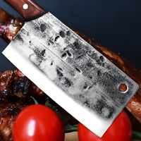 Handmade Chinese Cleaver Vegetables Slicing Home Tool Chef Kitchen Knife ILS474.00