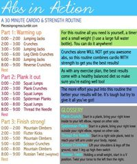 strength training, home workout plans and at home workouts.