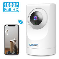 Full HD 1080P Home Security IP Camera Two Way Audio WiFi Wireless CCTV Camera Indoor IR Night Vision Baby Monitor