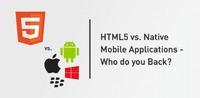 Recently, we have seen a surge in the ongoing debate of whether it is best to develop mobile applications using HTML5 in some responsive framework manner or as a standalone bespoke-application.