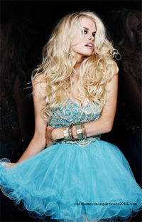 Sherri Hill 2864 Sparkly Top Short Dresses For Homecoming