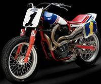 Ricky Graham's National No. 1 dirt track bike
