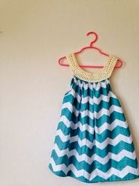 Tales of a Crafty Mommy: Fabric + Crochet Sundress Tutorial