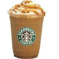 Caramel Frappe at home: 1/2 cup cold coffee 3 tablespoons sugar 1/2 cup milk 2 cups ice 3 tablespoons caramel sundae syrup whipped cream Combine all ingredients into electric blender. Blend drink until ice is crushed and drink is smooth. Serve in coffee c...