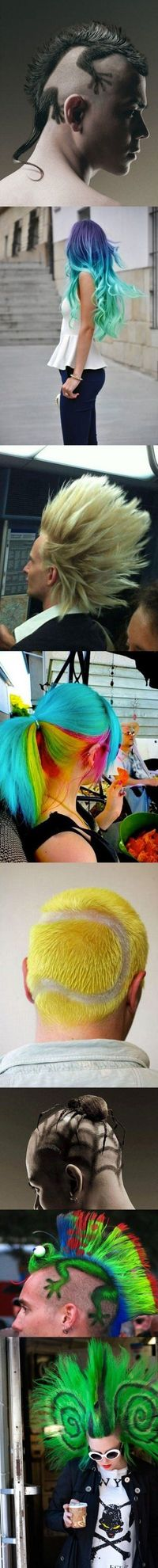 Awesome Haircuts: Not for me but very cool!
