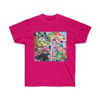 Colorful Abstract Art, Unisex Ultra Cotton Tee $19.00