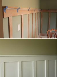 Easy way to add wainscoting