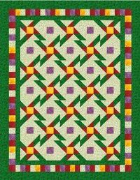 Daisy Star Nine Patch #Quilt #tutorial