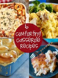 cozy casserole recipes that take the stress out of mealtime