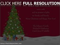 Download free Merry Christmas card saying from holidays wishes
