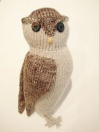 Knitted Owl - Free Pattern - PDF Download