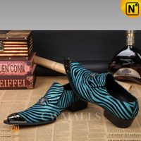 CWMALLS® Printed Leather Dress Shoes CW751527