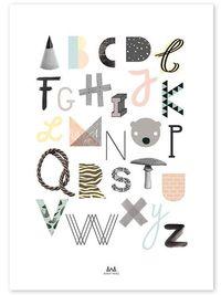 ABC Print (50x70cm)