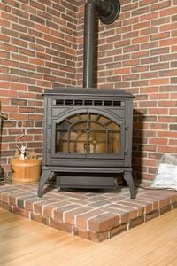 How to Reduce Clearances When Installing a Wood Stove. Fire-safe backing.