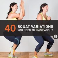 All of these will work your entire posterior chain starting with your feet and going up through your calves, hamstrings, glutes, and back. Get ready to feel the