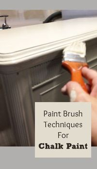 Chalk paint acts a little bit different than latex paint does. If you want the look of chalk paint, learn�€� Read more »