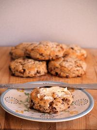 Toffee Mascarpone Scones