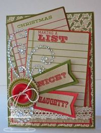Naughty? Nice? by stampinjewelsd - Cards and Paper Crafts at Splitcoaststampers