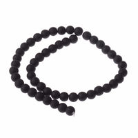 Pack of 40 Round Black Beads. 8mm Ball Spacers £8.29