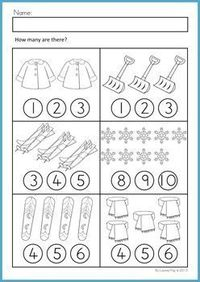 math worksheets activities winter beginning ski preschool items juxtapost. Black Bedroom Furniture Sets. Home Design Ideas