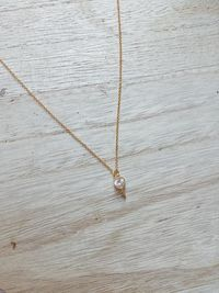 Tiny Gold Heart Key Charm Gold Necklace, Dainty Gold Charm Necklace | Mothers Day Gift $22.99