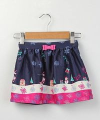 Another great find on #zulily! Navy Reindeer Skirt - Infant & Toddler by Beebay #zulilyfinds