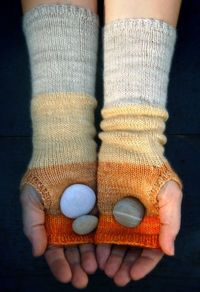 Colorblock Hand Warmers