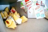 fortune cookie holiday treat