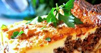 Pastichio- Greek Style Lasagna...hands down one of the best recipes for it on the web! It's Yia-Yias family recipe! First Home Love Life