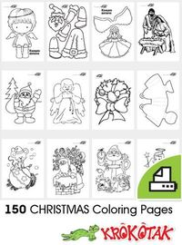 CHRISTMAS Coloring Pages - high school students like to color too!